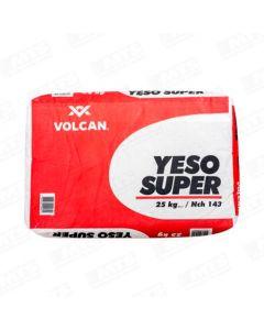 YESO SUPER SACO 25 KGS  VOLCAN