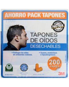 TAPON 1100 DE ESPUMA SIN CORDON NRR 29DB