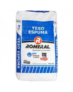 YESO ESPUMA ROMERAL 25 KG